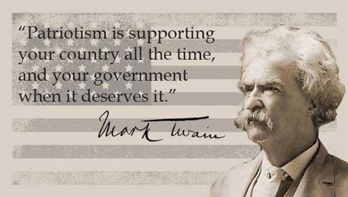 Dissent is the  Highest Form of Patriotism