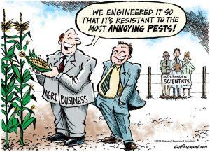 GMO Corporate Conspiracy