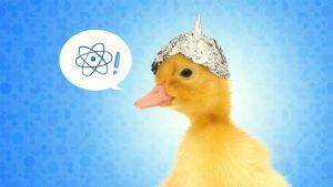 GMO Pseudoscience Tinfoil Duck