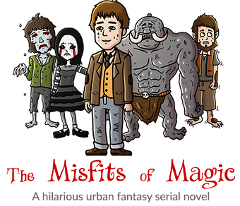 Misfits of Magic - Urban Fantasy by Ron Sparks